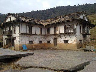 Kanda, Bajura Village development committee in Seti Zone, Nepal