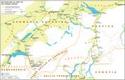 Historische Karte CH Rome 1