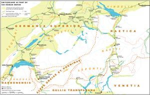 Early history of Switzerland - Switzerland during the Roman era