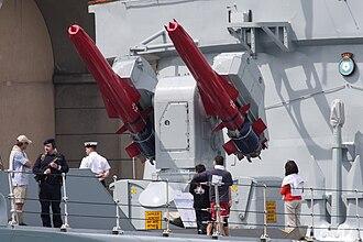 HMS York (D98) - Image: Hms york sea dart