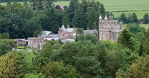 Hoddom Castle from Repentance Tower.jpg