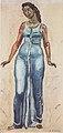 Hodler - Stehende Frauenfigur in blauem Gewand - ca1915.jpeg