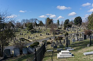 Hollywood Cemetery (Richmond, Virginia) cemetery in Richmond, Virginia, United States