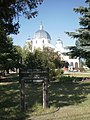 Holy Trinity Ukrainian Catholic Church, Vegreville, sign.jpg