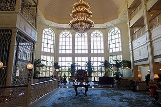 Hong Kong Disneyland Hotel - Hotel Lobby