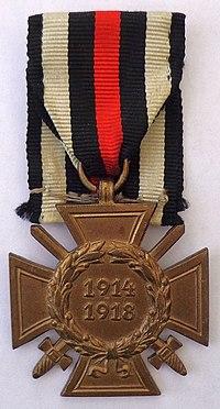 Honour Cross of the World War 1914-1918 (front).jpg