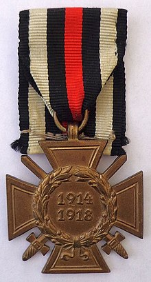 Honour Cross of the World War 1914-1918 (front).jpg