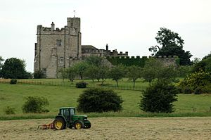 Hornby Castle, Yorkshire - Hornby Castle today