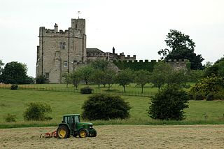 Hornby Castle, Yorkshire Grade I listed castle in Richmondshire, United Kingdom