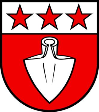 Hornussen, Aargau - Image: Hornussen blason