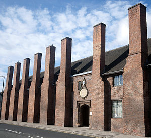 Listed buildings in Lichfield - Image: Hospital of St Johns
