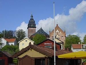 Strängnäs - Image: Houses in Strängnäs