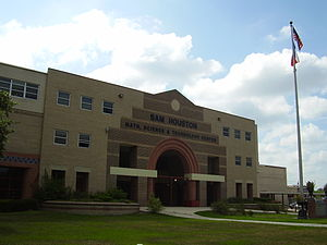 Sam Houston Math, Science, and Technology Center - Image: Houston Sam HS Houston TX