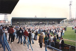 Goldstone Ground - The stadium before closure in 1996