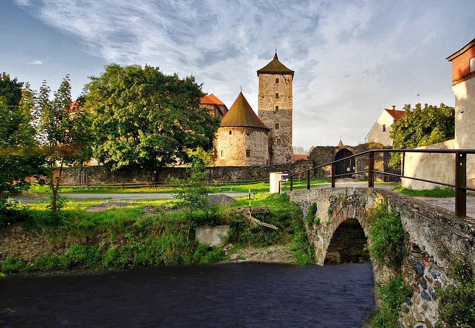 Hrad Švihov od severu