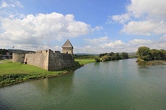 Hrvatska Kostajnica - Hrvatska Kostajnica Castle and Una River