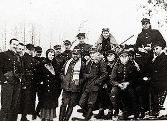 Resistance during World War II - The first partisan of World War II Hubal and his unit - Poland winter 1939
