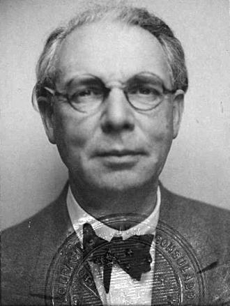 Alfred Agache (architect) - Alfred Agache in 1939 passport photo