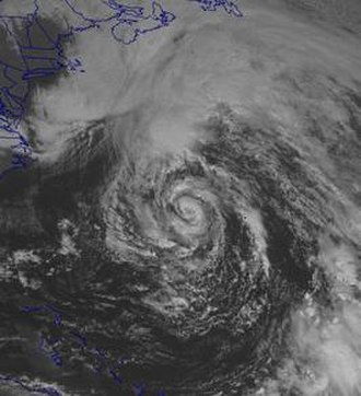 The Perfect Storm (film) - Hurricane Grace on October 28, 1991, when the Andrea Gail went missing.