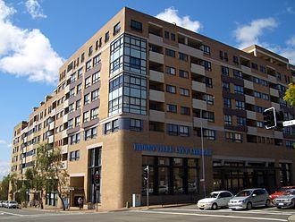 Hurstville, New South Wales - Hurstville library
