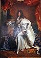 Hyacinthe rigaud, ritratto di luigi xiv di francia, 1701, 02.JPG
