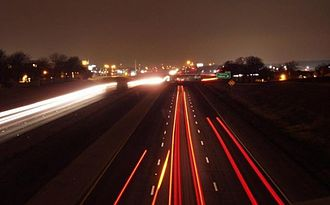 Interstate 30 -  Tom Landry Freeway at Eastchase in Fort Worth, Texas