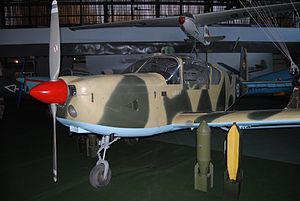 IAR 823 at the Aviation Museum, Bucharest.JPG