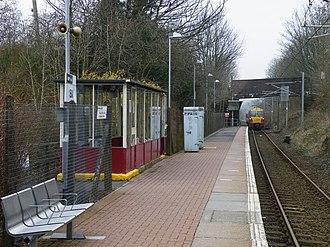 IBM railway station - The platform of the old IBM station