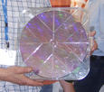 VLSI microcircuits fabricated on a 12-inch wafer