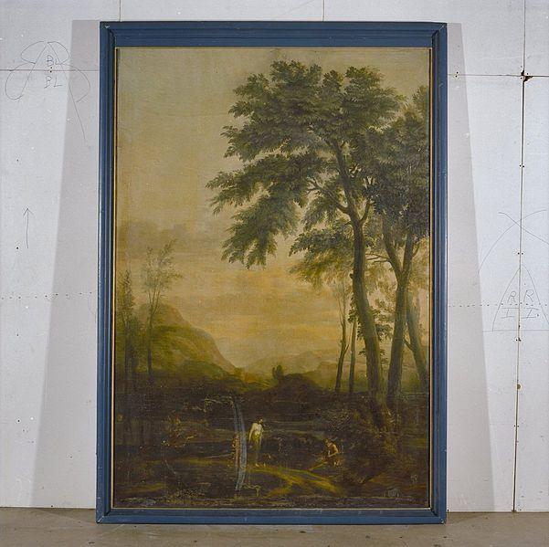 File:INTERIEUR, BESCHILDERD PANEEL, ORIGINEEL IN CENTRAAL MUSEUM TE ...