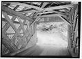 INTERIOR OF WEST PORTAL. - Beaverkill Bridge, Spanning Beaver Kill, TR 30 (Craigie Claire Road), Roscoe, Sullivan County, NY HAER NY-329-5.tif