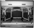INTERIOR WEST WALL - Columbia Theatre, 215 Riverside Mall, Baton Rouge, East Baton Rouge Parish, LA HABS LA,17-BATRO,7-9.tif