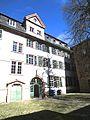 IV. Heidelberg Altstadt Campus Universität Heidelberg Haus zum Riesen Hof und Gartenseite Anatomiegarten.jpg