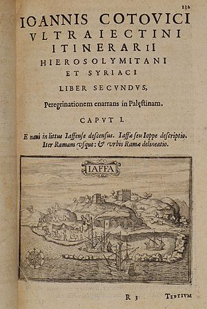Iaffa - Cootwijck Johannes Van - 1619