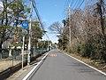 Ibaraki prefectural road route 68 (Miho-Sakae line) in Itabashi-machi,Ryugasaki city.JPG