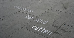 Ibsen quotes, Oslo - Example of a quote, from the play An Enemy of the People