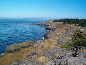 San Juan Islands - Lopez Island, one of the San Juan Islands, Washington