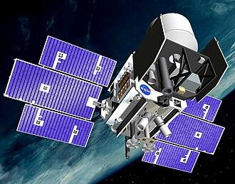 Radiodetermination-satellite service - Image: Icesat