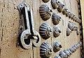 Iglesia Parroquial de la Encarnación - Detalle de llamador de la puerta lateral.jpg