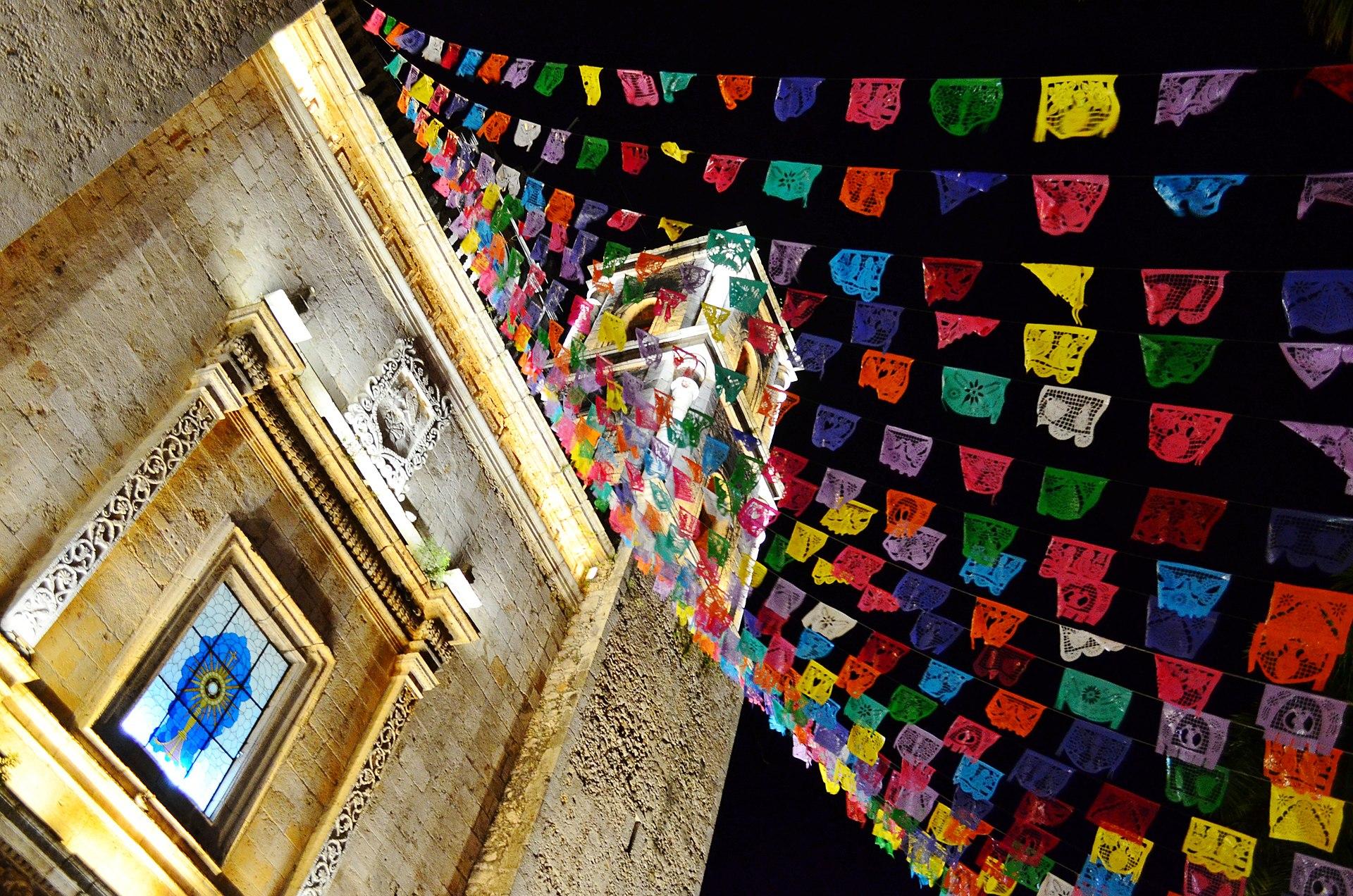 Papel Picado, colorful Mexican bunting