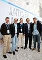 """Ignacio Diego con Rafael Hernando Parte de la delegación del PP de Cantabriaen la Convención Nacional del PP """"Juntos por un gran país"""" (16355250115).jpg"""