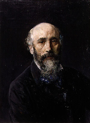 Ignacio Pinazo Camarlench - Self-portrait