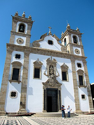 Architecture of Póvoa de Varzim - Portuguese Baroque and Rococo in the Matriz Church of Póvoa de Varzim.