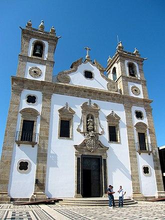 Architecture of Póvoa de Varzim - Portuguese Baroque and Rococo in the Matriz Church of Póvoa de Varzim.
