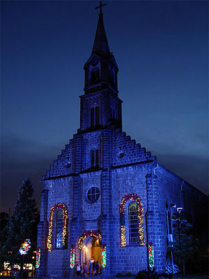 Gramado - St. Peter Church.