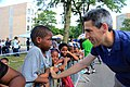 Illinois State Senator Daniel Biss at the Bud Billiken Parade 2015 (20240662418).jpg