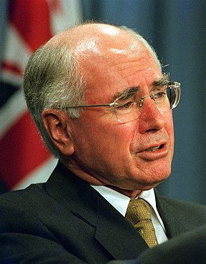 Australian Constitutional Convention 1998 - Prime Minister John Howard supported the constitutional monarchy. The Liberal-National Coalition permitted their members a free vote on the issue.