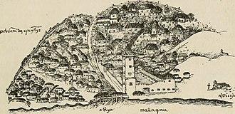 Portuguese Malacca - Portuguese Malacca by Ferdinand Magellan, ca. 1509-1512.