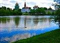 In God we trust ^ Новодевичий монастырь. Moscow, Russia. - panoramio - Oleg Yu.Novikov (19).jpg
