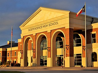 Independence High School (Frisco, Texas) - Image: Independence High School